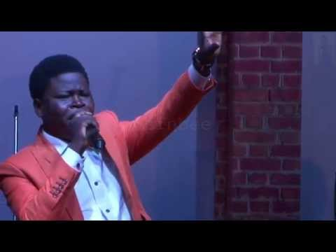 Tosinbee ministering live at the RCCG Joshua Ville, Victoria Island
