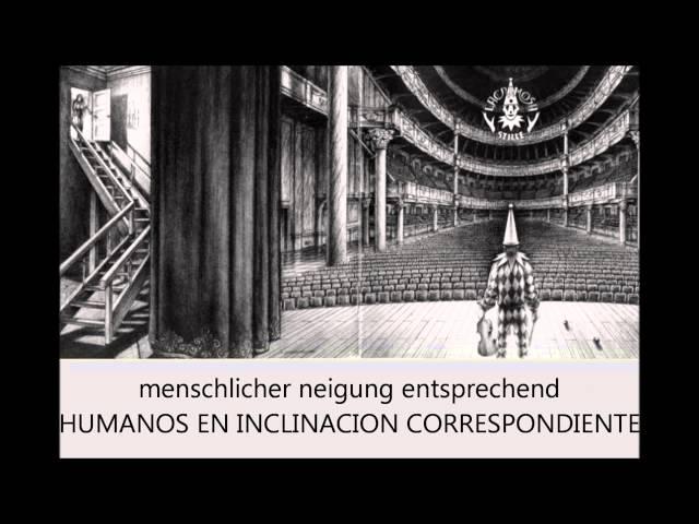 Lacrimosa   Die Strasse der zeit Subtítulos Alemán Español)