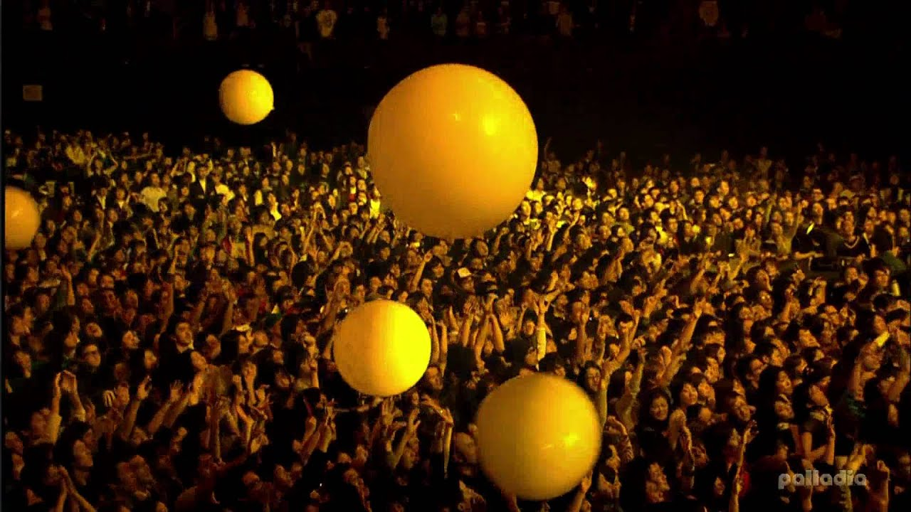 Fall Live Wallpaper Mtv World Stage Coldplay Live From Japan Yellow Hd 1080i