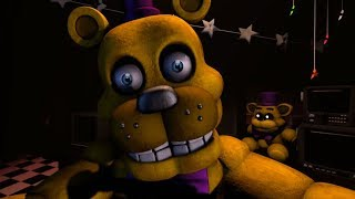 The SCARIEST Night at Fredbears Family Diner.. | FNAF Challenge Night