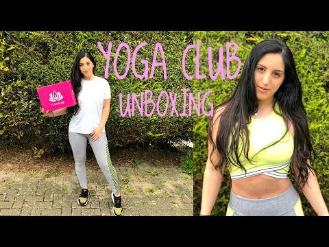 TRYING OUT YOGA CLUB'S SUBSCRIPTION BOX | Try On & Review!