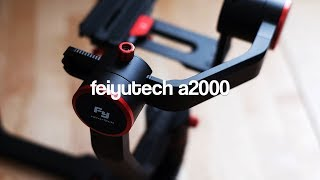 IL MIGLIOR GIMBAL ECONOMICO? - Feiyutech A2000 - REVIEW