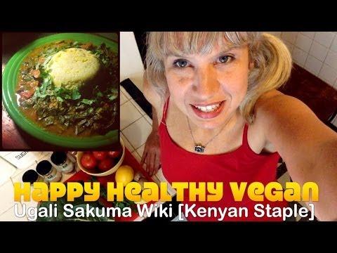 Vegan Ugali Sukuma Wiki [Kenyan Runners Staple]