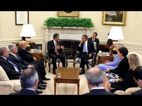 President Obama Meets with President Fernández