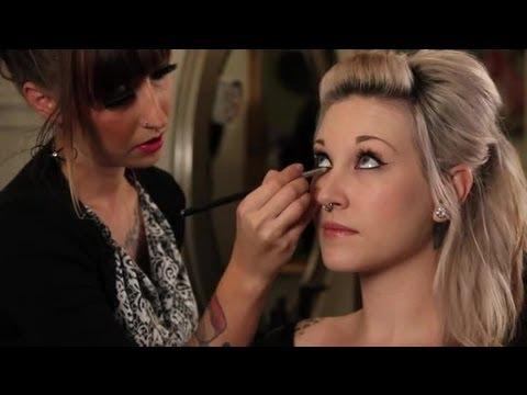 Rockabilly Makeup Style Makeup Tips Tricks Youtube