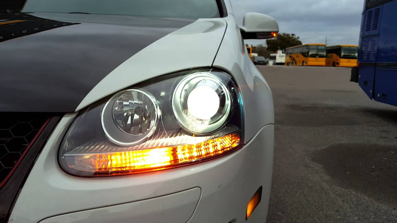 New Hella Bi-xenon Headlamps Gti Mkv - Bad Ballast