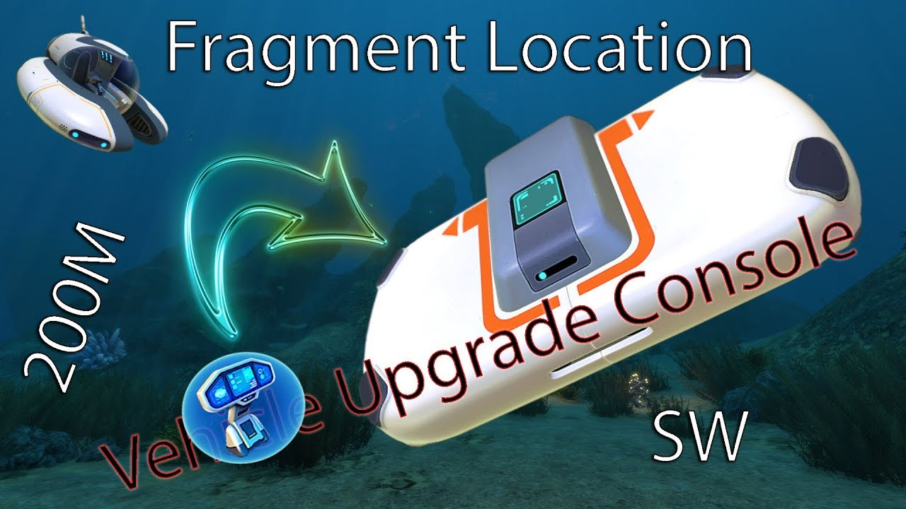 Location Console Full Game Vehicle Upgrade Console Location Subnautica