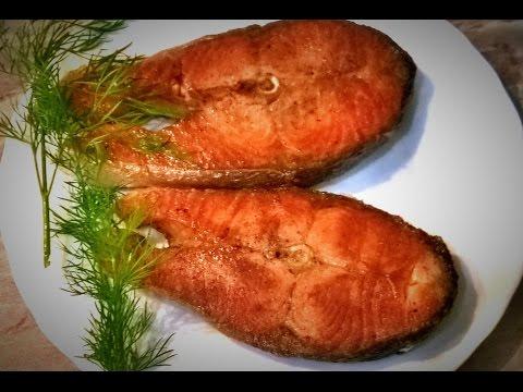 Как жарить стейк из рыбы