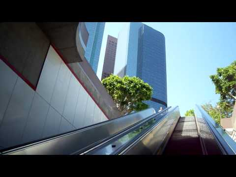 Pershing Square Station to the LA Skyline