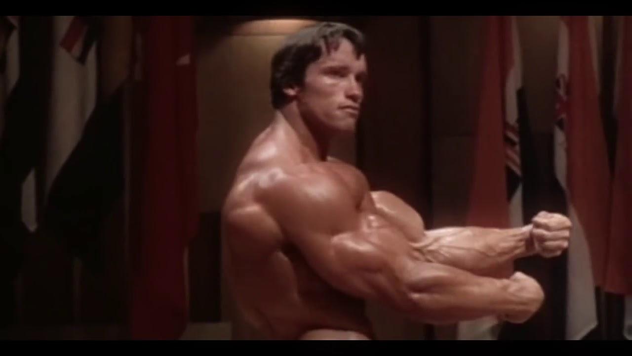 Arnold schwarzenegger bodybuilding training no pain no gain youtube arnold schwarzenegger bodybuilding training no pain no gain malvernweather Image collections