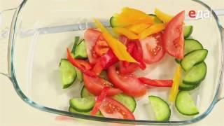Нежный салат из свежих овощей без лука и чеснока от шеф-повара /  Илья Лазерсон / Обед безбрачия
