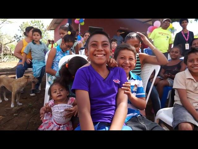 Dani Johnson Donors in San Rafael, Nicaragua 2017