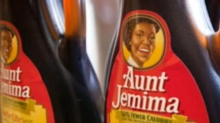 Behind the image of Aunt Jemima