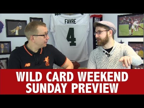WILDCARD WEEKEND SUNDAY PREVIEW - THE PLAYOFFS PREVIEW SHOW