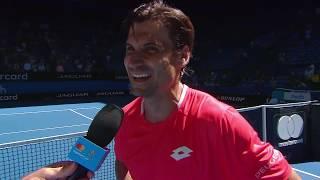 David Ferrer on-court interview (RR) | Mastercard Hopman Cup 2019