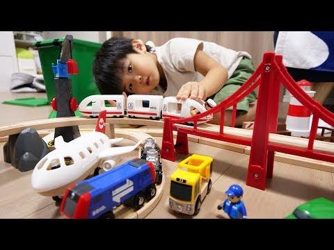 BRIO ワールドデラックスセットで遊んだよ World Deluxe Train Model Set – BRIO