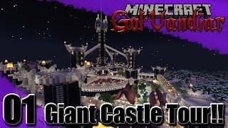 The Entertainment District - Gol'Vandiar - Giant Minecraft Castle Tour Ep1