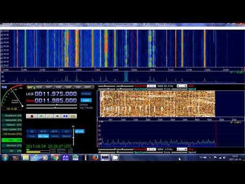 Radio Japan French VIA Madagascar relay 11985 khz Shortwave on SDR