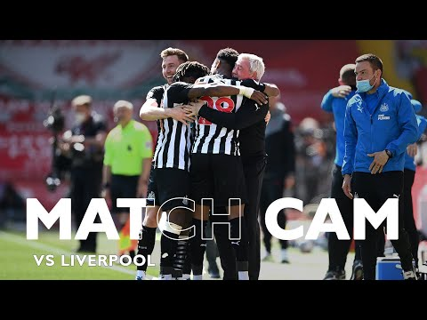 MATCH CAM 🎥 Liverpool 1 Newcastle United 1 | Premier League Highlights