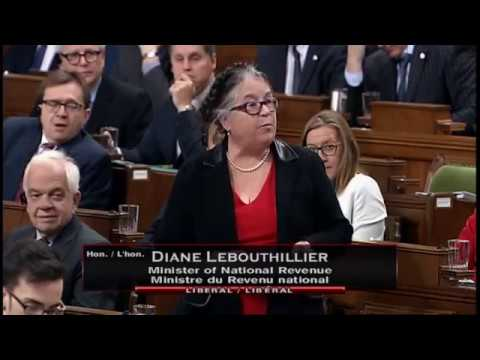 Minister of National Revenue addresses CRA landlord's use of tax havens