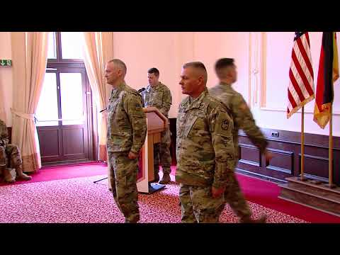 DFN:US Army Garrison Ansbach Welcomes 678 ADA Brigade, ANSBACH, BY, GERMANY, 03.27.2018