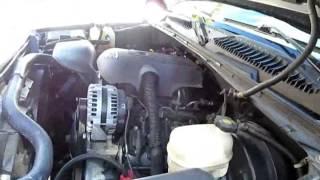 GMC sierra Chevy Silverado Coolant leak heater core fittings! Easy fix