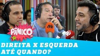 A briga entre direita e esquerda vai acabar? Feliciano e Felipe Moura Brasil respondem