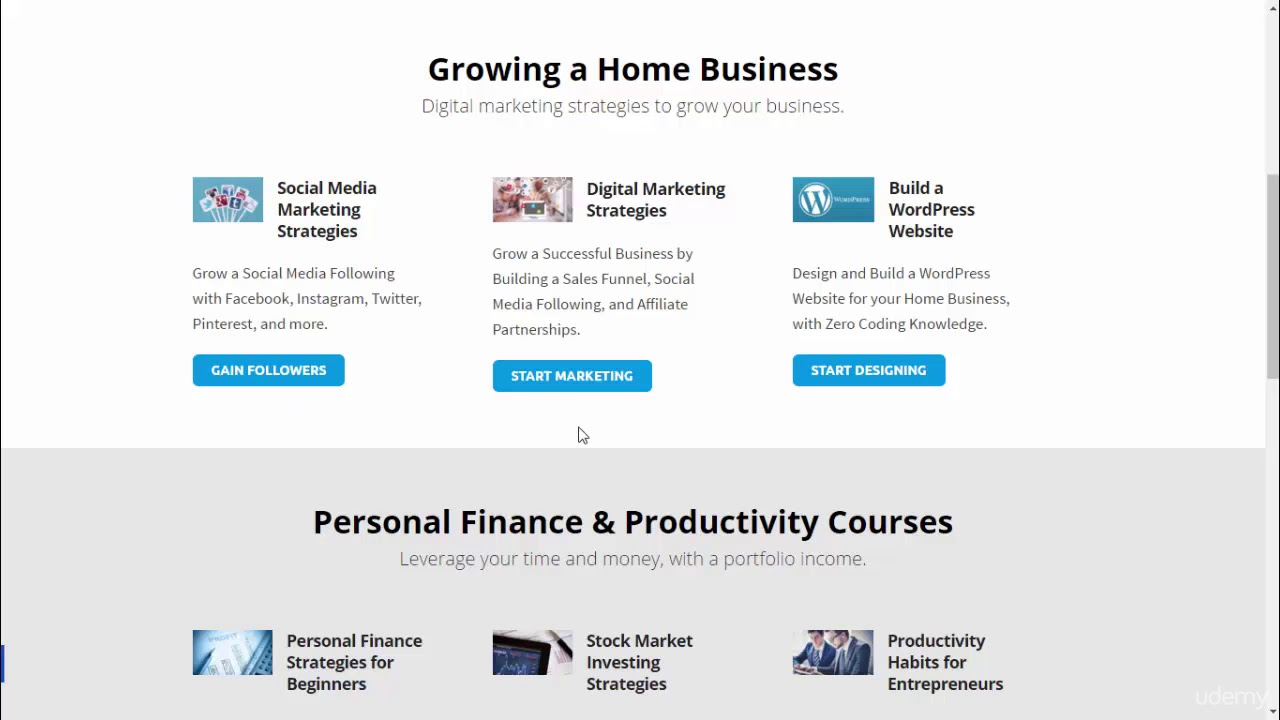 Create and Sell Online Courses with Teachable and Thinkific : Skillhance Homepage