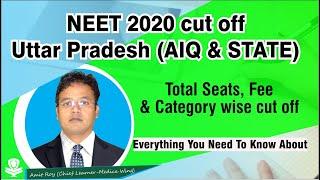 NEET 2020 Cutoff UP - Uttar Pradesh NEET MBBS Cutoffs for All colleges, Category wise