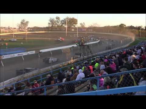Super Late Model Heat #2 from Florence Speedway, October 22nd, 2016.