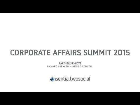 Corporate Affairs Summit 2015