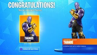 FORTNITE X AVENGERS SKINS! NEUE MARVEL X FORTNITE END GAME EVENT (Saison 8)