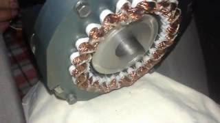 видео Бесколлекторный двигатель постоянного тока
