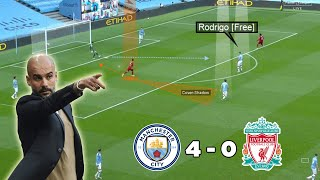 A Dominating Man City Performance | Man City Vs Liverpool 4-0 | Tactical Analysis | Nouman
