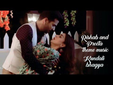 Preeta and Rishab  tu haathon mein toh hai mere phir kyun nahi lakeerein  song lyrics kundali bhagya