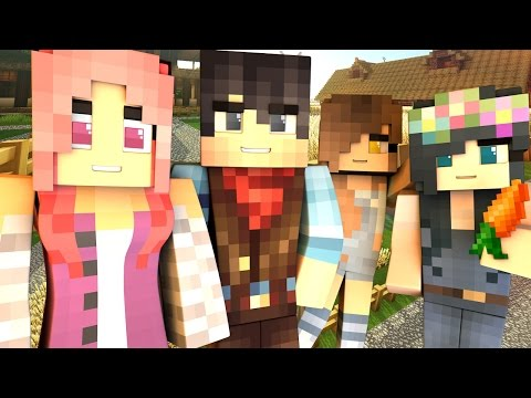 Yandere High Side Stories - MURDER ON SENPAI'S FARM?! (Minecraft Roleplay)