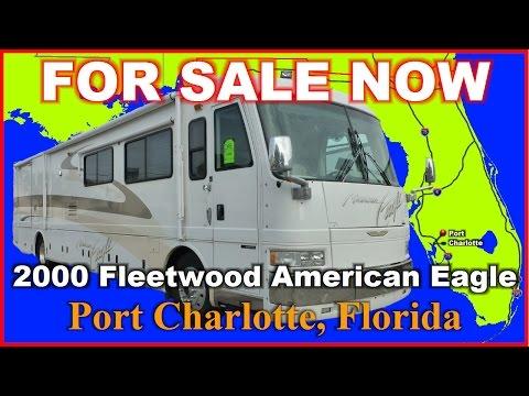 2000 Fleetwood American Eagle 40EDS Class A Diesel Motorhome, Florida, Ft Myers, Sarasota