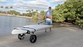 BIC SUP Trolley Stand Up Paddleboard Transportation