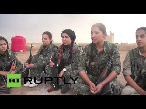 Syria: Meet the Kurdish women fighting the frontline battle against IS