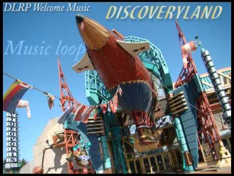 Discoveryland - area Music Loop - Disneyland Paris