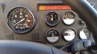 Газ 3309 работа двигателя и приборов.