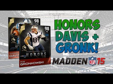 MUT 15 - Rob Gronkowski & Thomas Davis! | Madden 15 Ultimate Team - NFL Honors Comeback POY + MOY