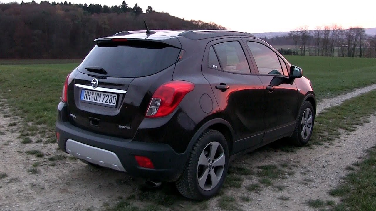 2015 opel mokka 1 4 turbo ecoflex 140 hp test drive youtube. Black Bedroom Furniture Sets. Home Design Ideas