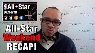 TEA: 2015 NBA All-Star Weekend RECAP, Zach LaVine Dunks! Steph Curry's WET!