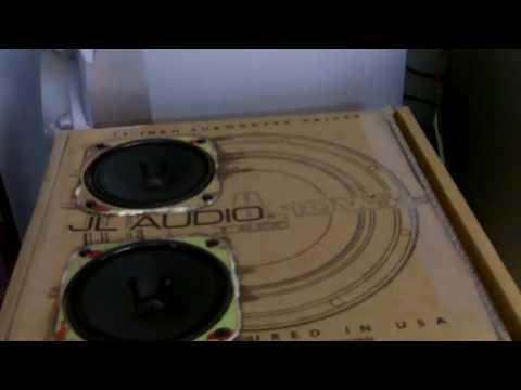 My cardboard speaker sub box FTW!! lol