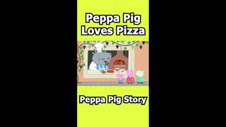 Peppa Pig Loves Pizza #Shorts #peppapig