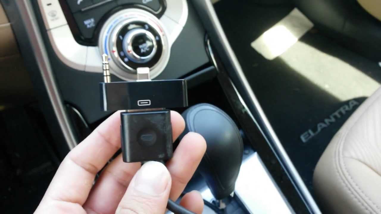 WORKING iPhone 5 Car Audio Adapter - YouTube