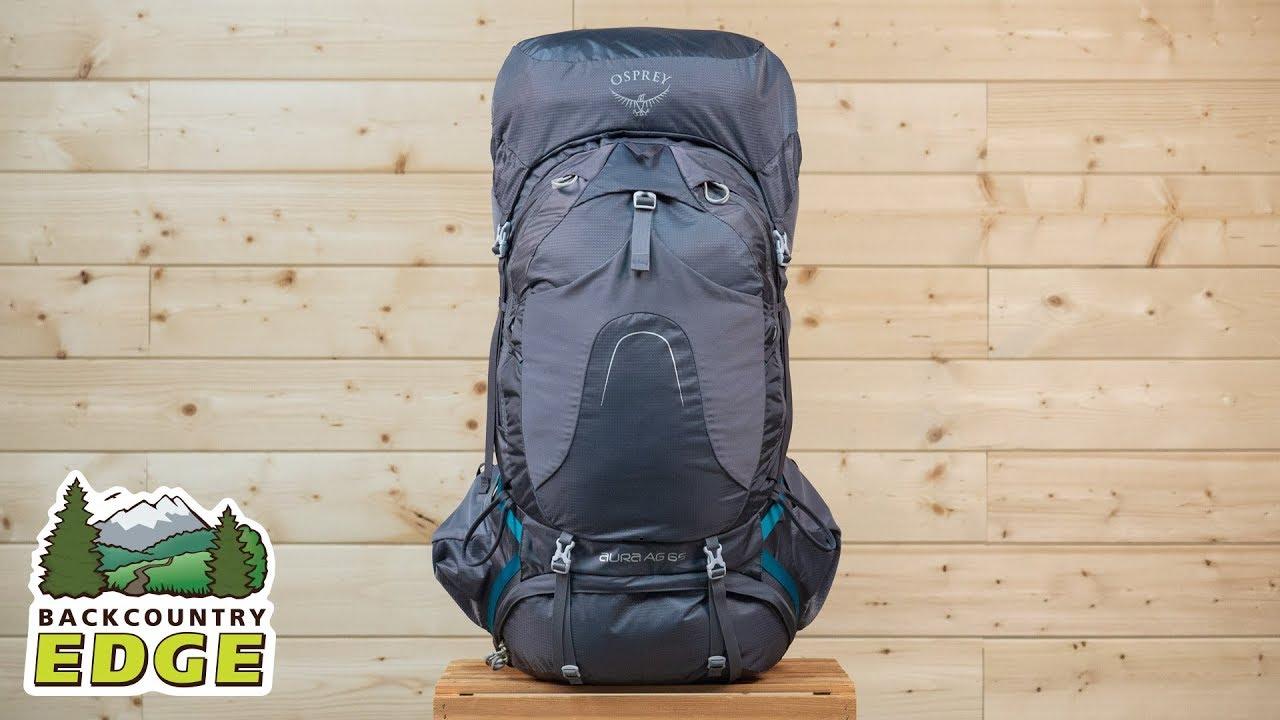 be176f6c28 Osprey Aura AG 65 Women s Internal Frame Backpack - YouTube