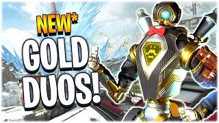 New* Gold Rush Duos Mode!! (Apex Legends PS4)