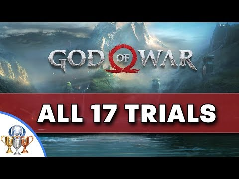 God of War - All 17 Muspelheim Trials (Normal, Hard and Impossible) Fire and Brimstone Trophy